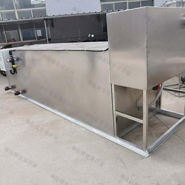 家用中小型地埋智能一体式油水分离器怎么处理