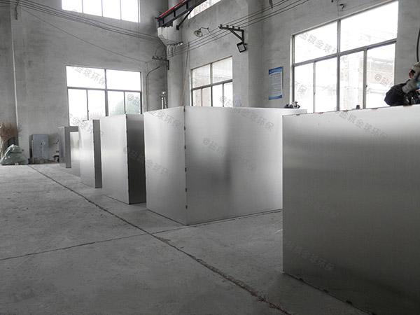 小区大室内移动一体化隔油池设备行业