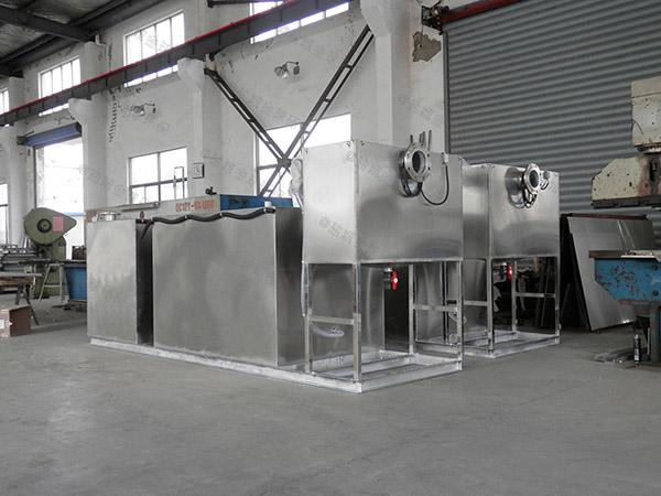 家庭地下自动排水隔油提升一体化设备安全