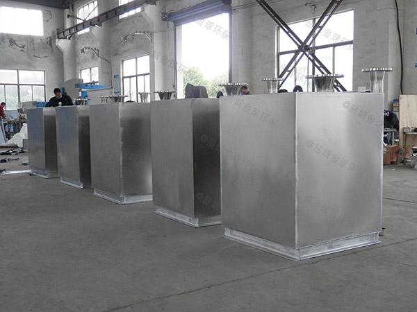 商城中小型室内全能型油水分离处理装置安装步骤