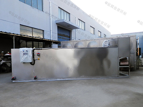 餐厅地下室大型组合式油水过滤器需要泵吗