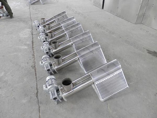饭堂户外大型多功能一体式隔油器是什么样子的