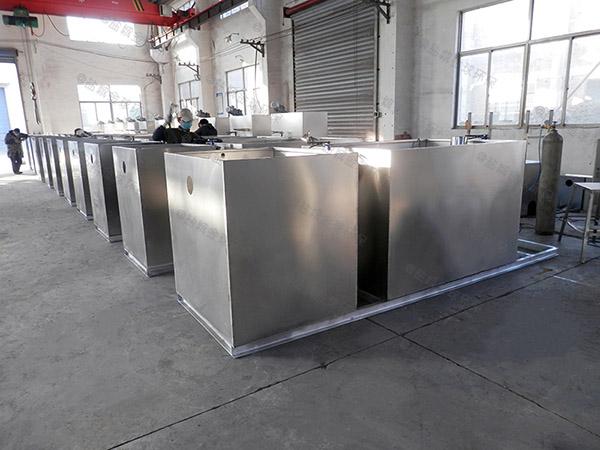 商用中小型地上式无动力一体化隔油池型号