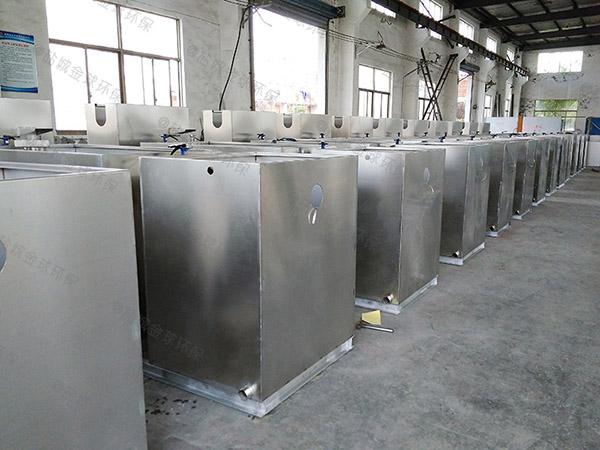 家用中小型地下式半自动油水分离器提升设备规格