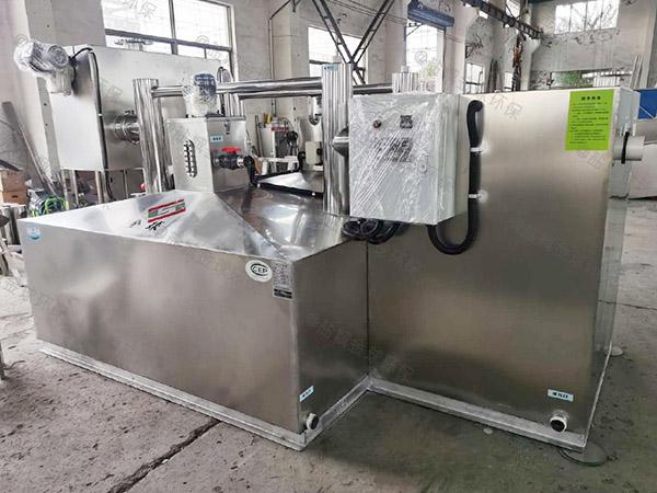 火锅专用户外中小型自动化隔油提升设备图片