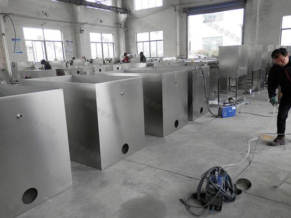 商业大埋地式全自动智能型隔油池的设计规范