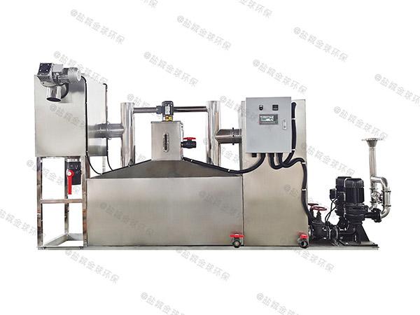 工地食堂地下室中小型自动刮油隔油强排一体化设备专营