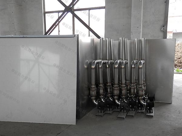 生活地面式中小型自动除渣隔油污水提升设备设计计算
