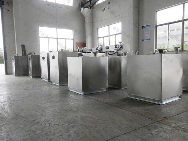 餐厅厨房地下式大自动化排水隔油设备价格图片