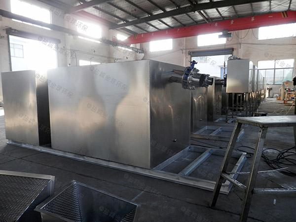 工程大型地面式自动除渣隔油一体化提升装置功能