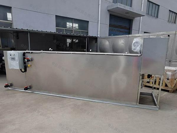 工地地面式全能型一体隔油提升设备设计