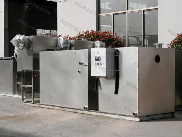 小区地面式移动式油水渣分离机供应厂家