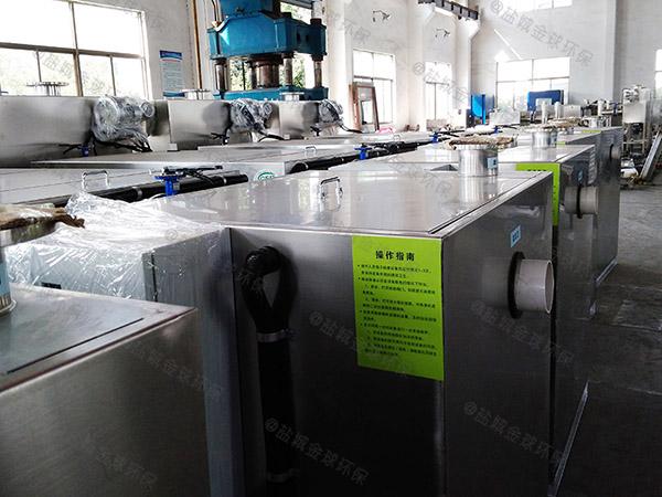 厨余埋地式中小型组合式隔油隔渣设备价格