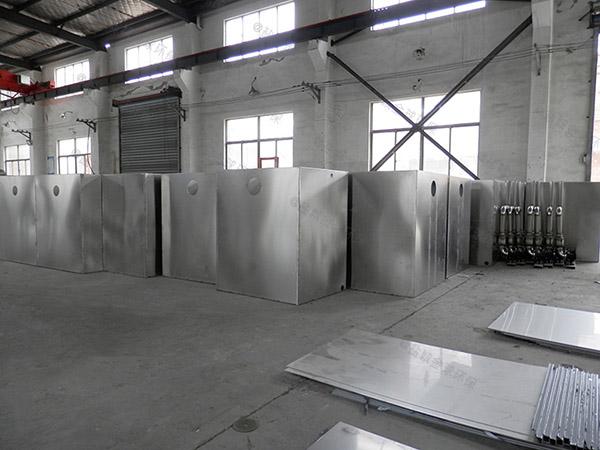 工地食堂中小型地埋式无动力一体化油水分离设备合同