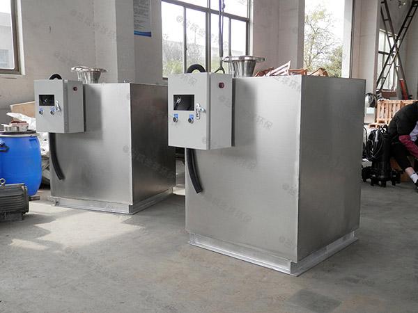 居民用地埋式多功能油水分离器与隔油池处理效果