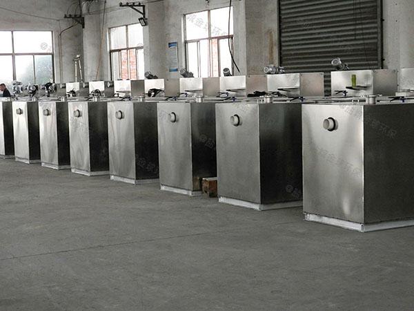 厨房用中小型室外移动式隔油池隔油器放在哪里