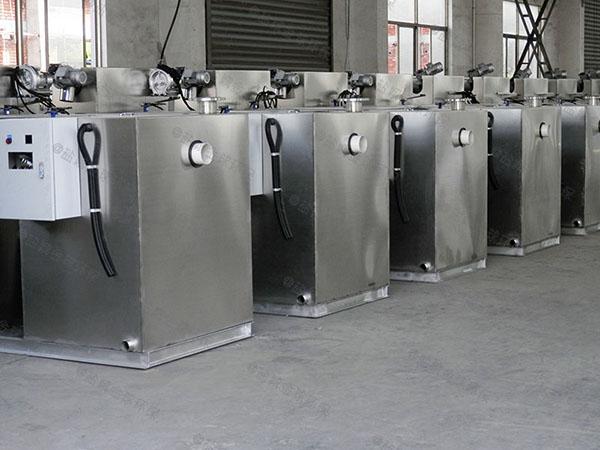 商家中小型地下分体式油水渣分离设备怎么选