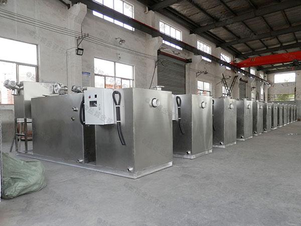 餐館室內大型自動排水油水分離過濾設備產業