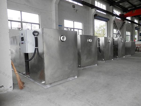 餐饮行业多功能油水分离净化器有哪些规格