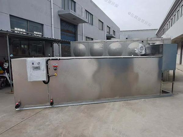 餐厅厨房中小型埋地移动式油水分离器除臭尺寸