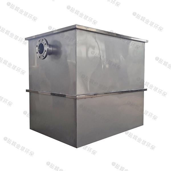 中餐地埋式自动油脂分离装置型号选择