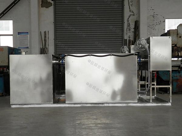 商场中小型地面自动刮油气浮式隔油设备需要哪些设备