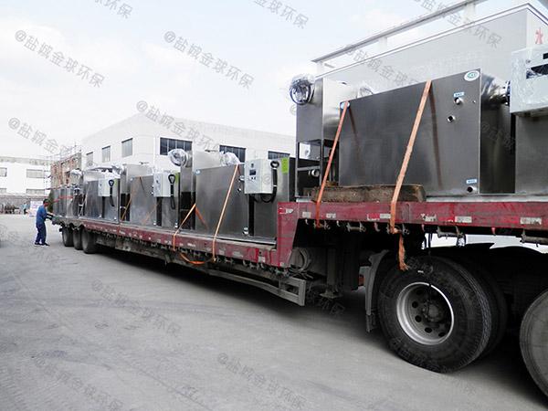 工地食堂大型室外半自动油水分离器隔油池的设计规范