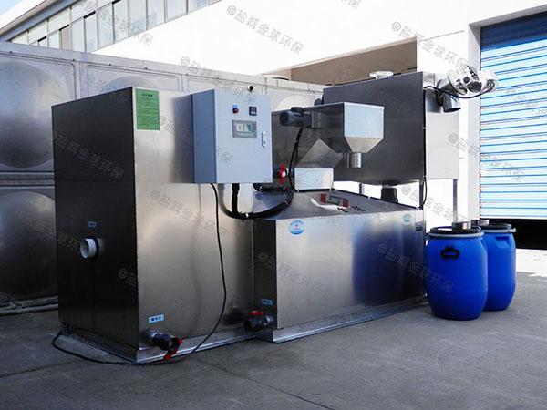 餐饮业室外大型全自动智能型隔油提升一体设备谁家好