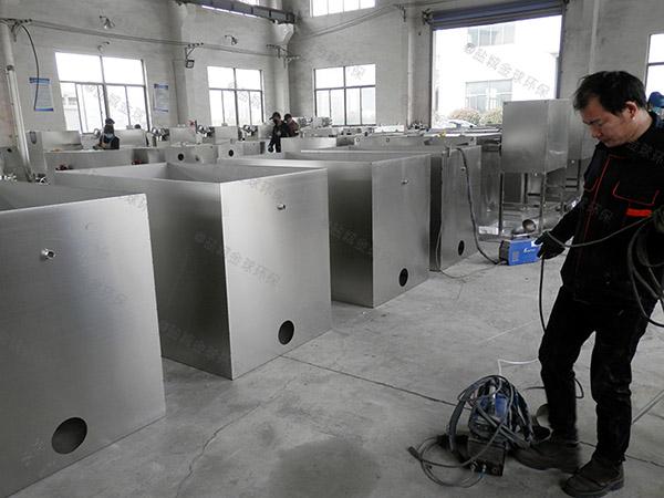 商场餐饮地上式大智能化一体化隔油污水提升设备技术