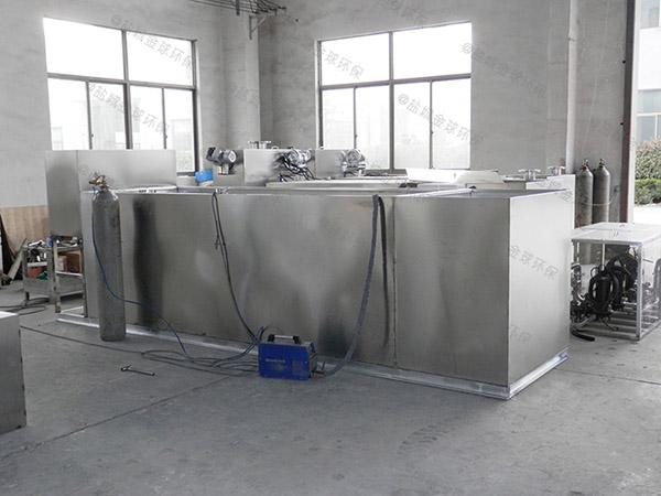 厨房用地埋式大型自动化隔油成套设备制造厂家