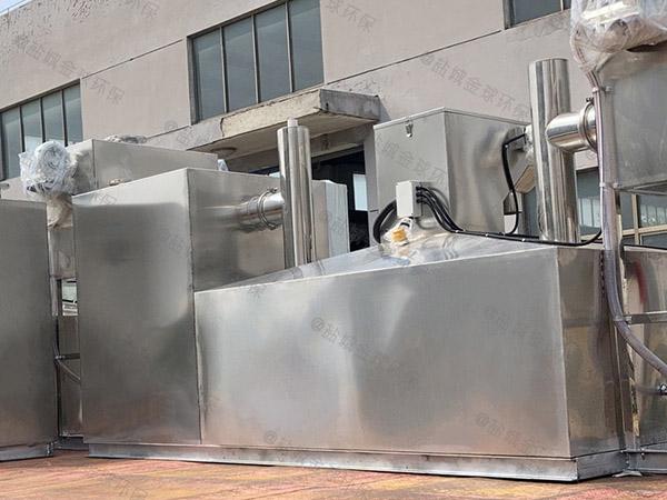 商家中小型埋地式多功能隔油提升装置的选择