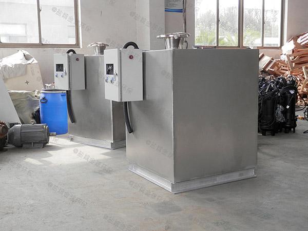 饮食业室外大自动排水气浮式油水分离器的位置