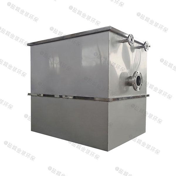 商场餐饮室内大自动排水一体化隔油池使用要求