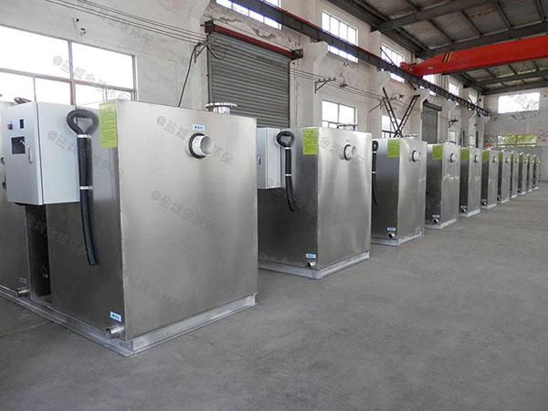 户外中小型地上全能型油水渣分离器工作原理