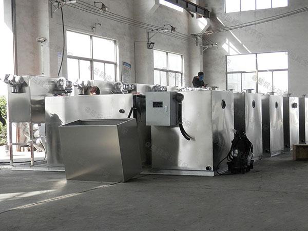 学校大地上分体式一体化油水分离提升设备的效率
