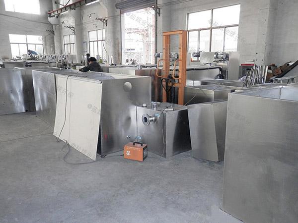 餐厨垃圾地面式中小型自动排水一体化隔油池操作规程