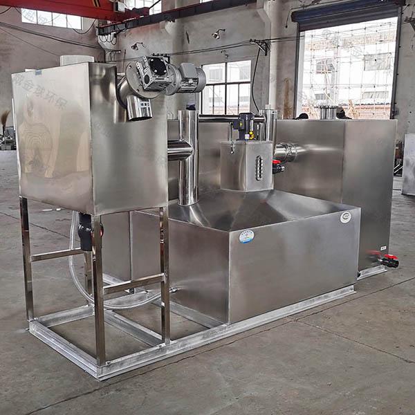 商场餐饮大型地埋全自动智能型不锈钢油水分离器属于粗滤吗