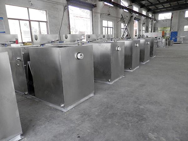 商场大型埋地式简易隔油池提升一体化设备如何选择