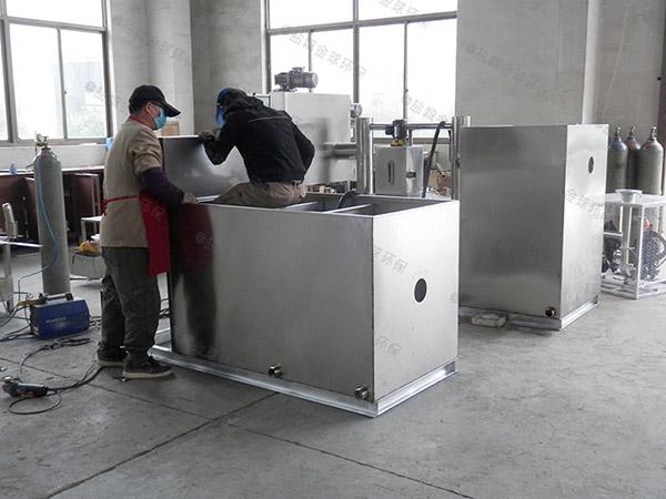 餐用中小型地面式自动油水过滤器产品