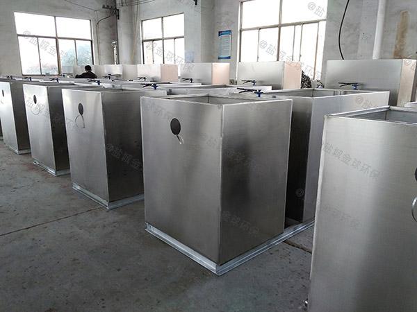 火锅店中小型组合式隔油设备调试方案