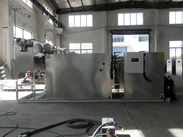 居民用地上式全自动隔油一体化提升设备质量好点的