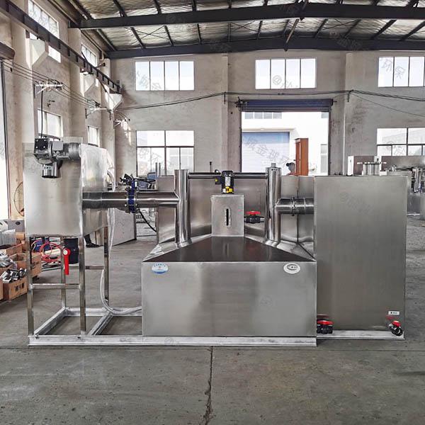 厨房地埋式中小型全能型污水油水分离设备厂家联系方式