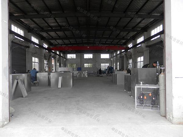 工厂食堂中小型地埋式简单密闭隔油器定制