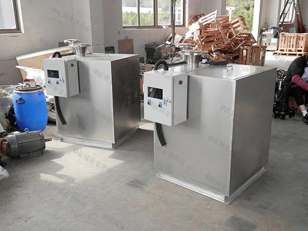 火锅埋地式自动排水提升隔油一体化设备有什么作用