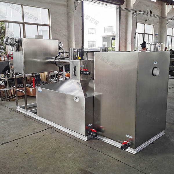 工地食堂中小型埋地式自动提升油水分离机多少钱