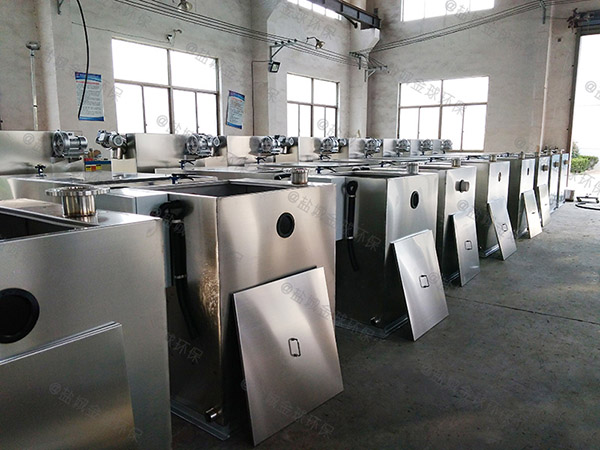 厨房用大型全自动油水分离器和隔油池制造厂家
