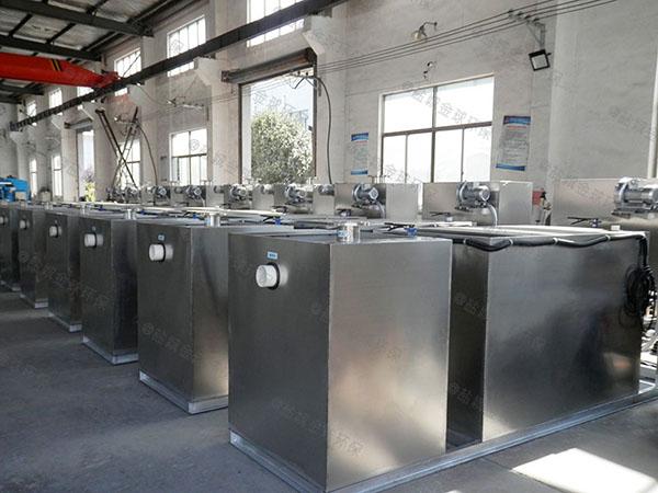 火锅地下无动力除油污水处理设备厂家供应