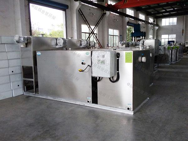 酒店地下式自动提升水与油分离设备工厂