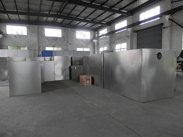 工厂食堂地下室大全能型隔油过滤器种类