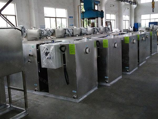 火锅店埋地式组合式隔油强排一体化设备供应商